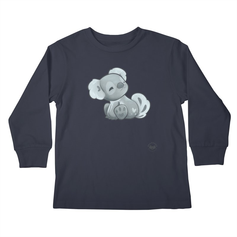 Cuddly Koala Kids Longsleeve T-Shirt by Bearhugs For Australia