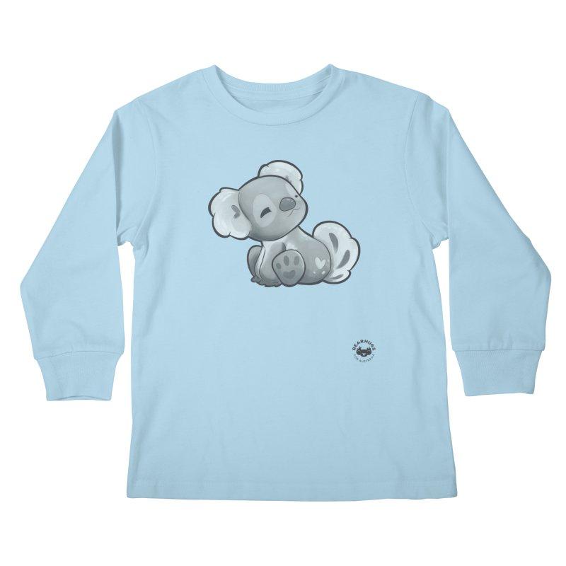 Cuddly Koala Kids Longsleeve T-Shirt by Bearhugs For Australia