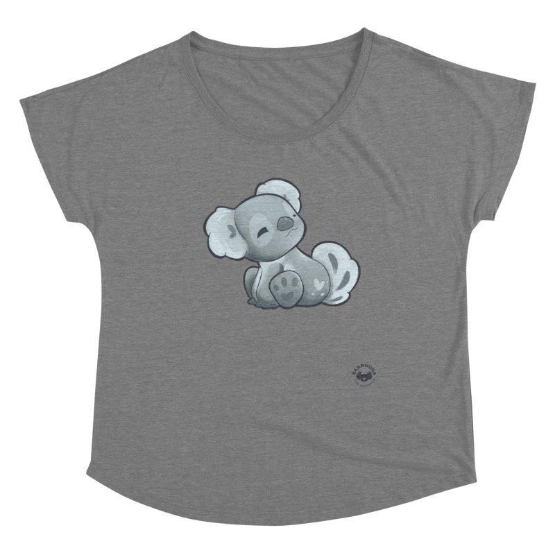 Cuddly Koala Women's Scoop Neck by Bearhugs For Australia