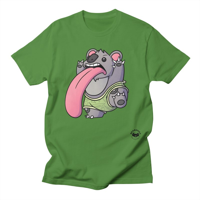 Koala Tongue Men's T-Shirt by Bearhugs For Australia