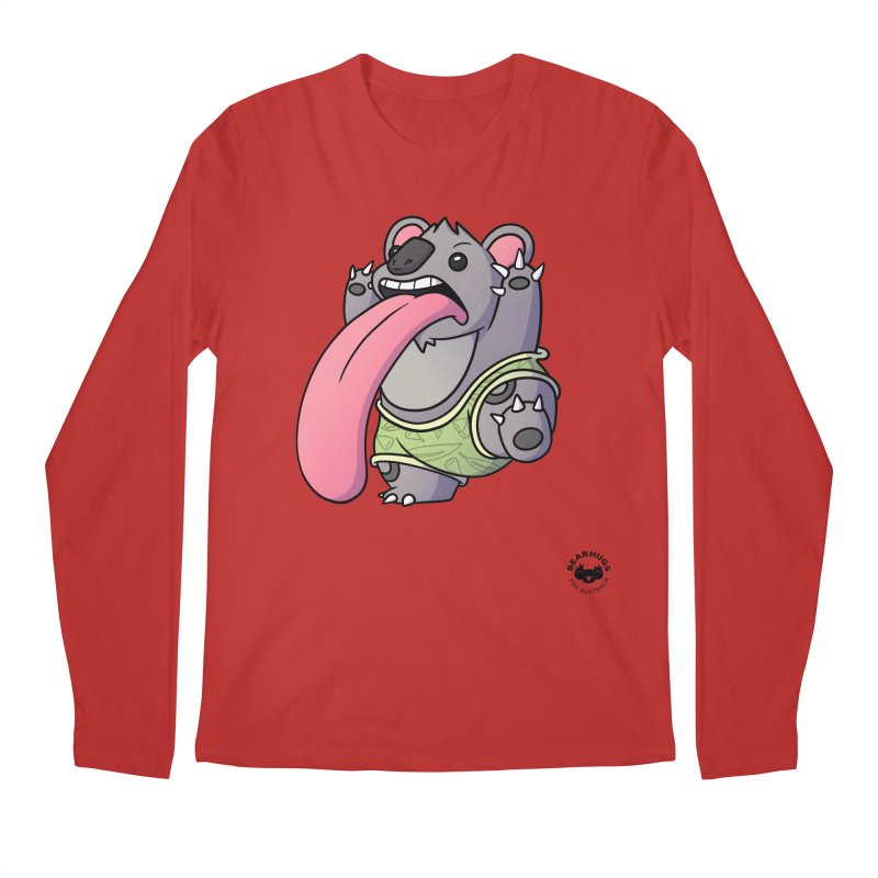 Koala Tongue Men's Longsleeve T-Shirt by Bearhugs For Australia