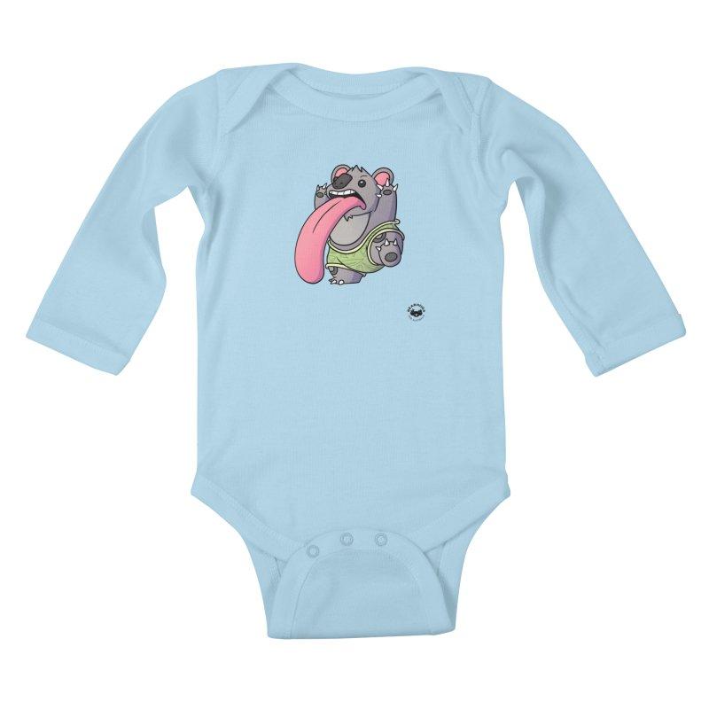 Koala Tongue Kids Baby Longsleeve Bodysuit by Bearhugs For Australia