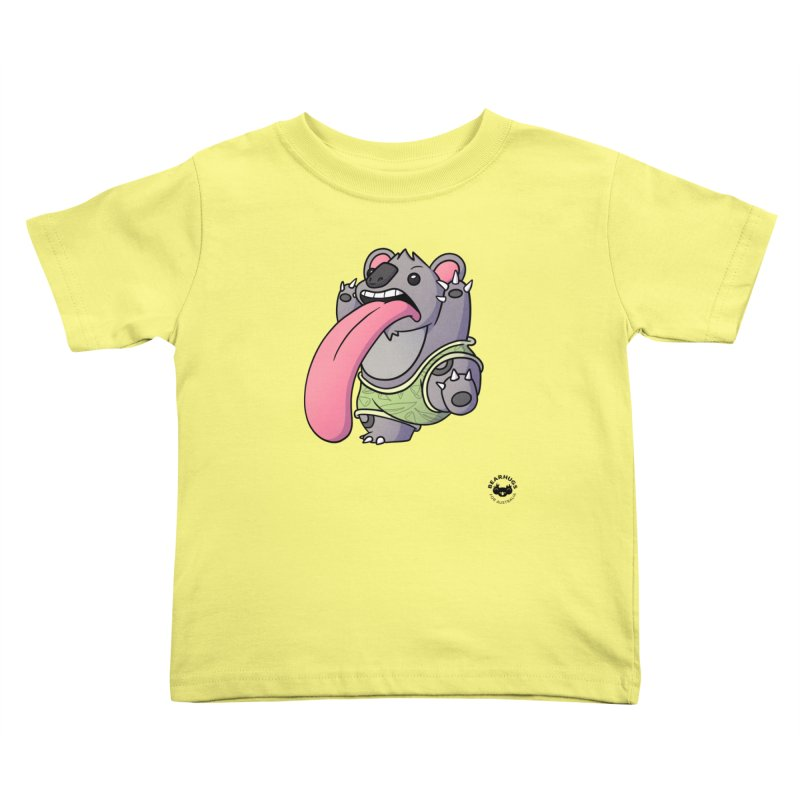 Koala Tongue Kids Toddler T-Shirt by Bearhugs For Australia