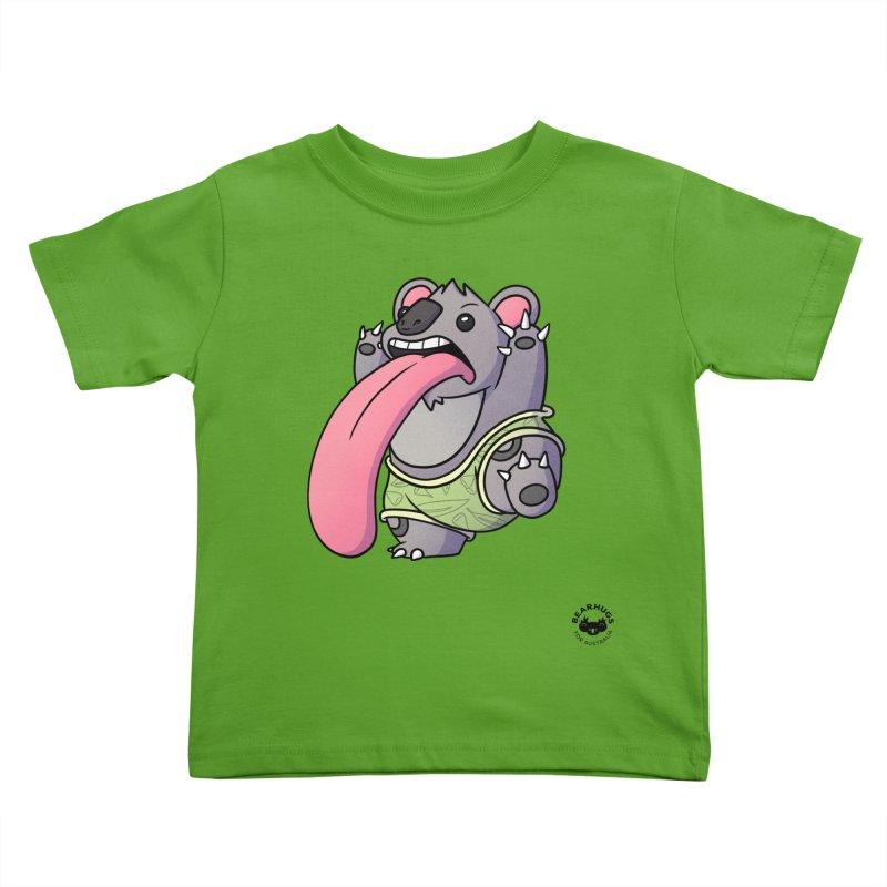 Koala Tongue Kids Toddler T-Shirt by Bearhugs For Australia