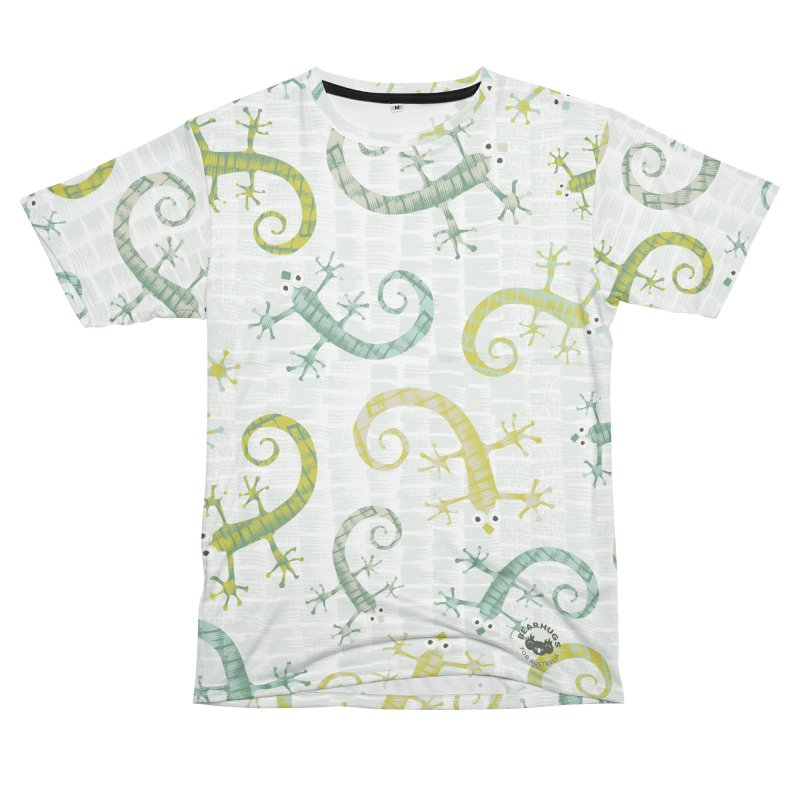 Aussie Geckos Men's Cut & Sew by Bearhugs For Australia