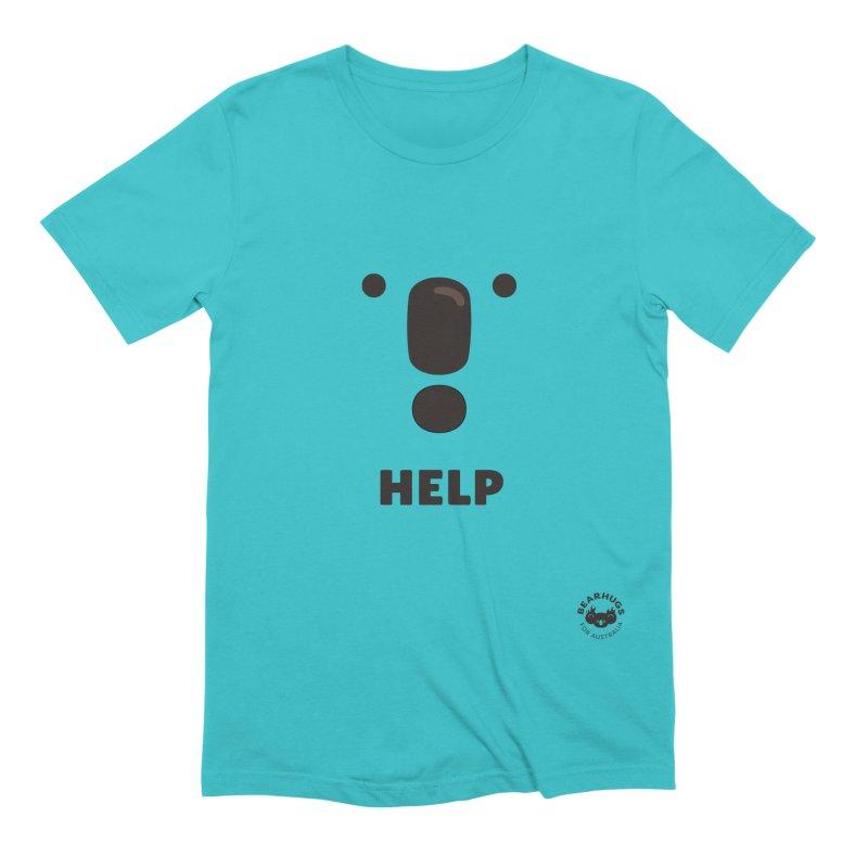 Koala Help! Men's T-Shirt by Bearhugs For Australia