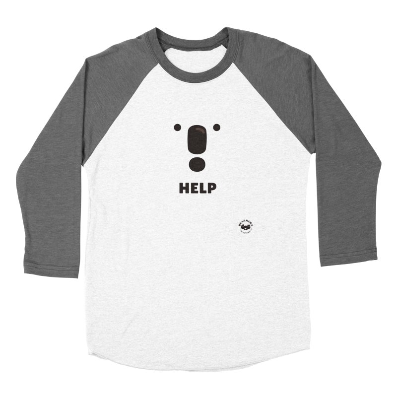Koala Help! Women's Longsleeve T-Shirt by Bearhugs For Australia