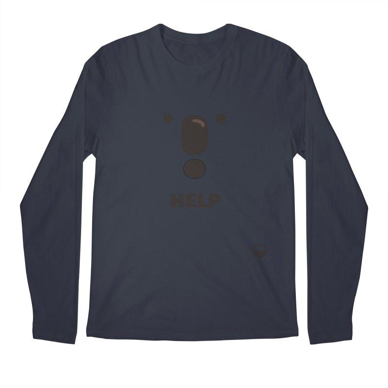 Koala Help! Men's Longsleeve T-Shirt by Bearhugs For Australia