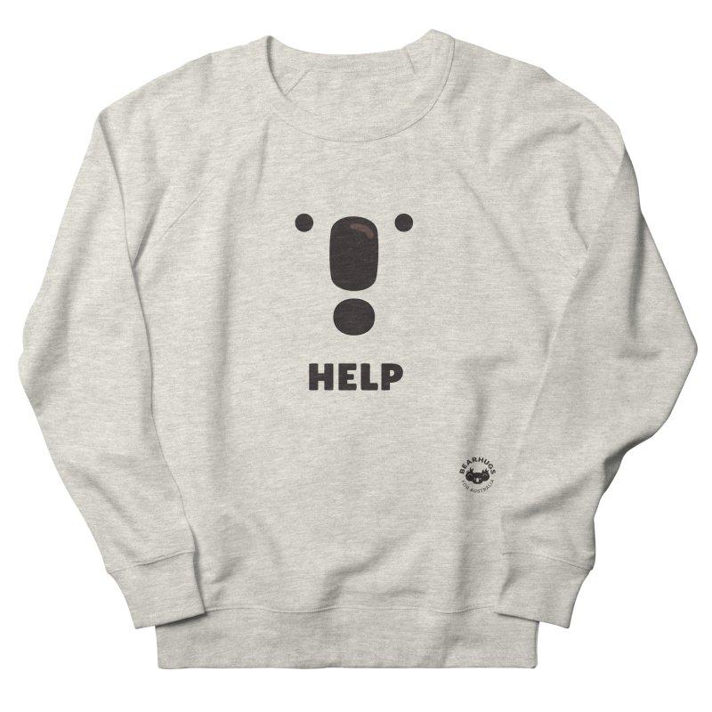Koala Help! Women's Sweatshirt by Bearhugs For Australia