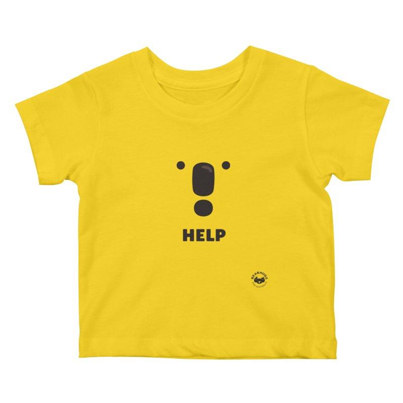 Koala Help! Kids Baby T-Shirt by Bearhugs For Australia