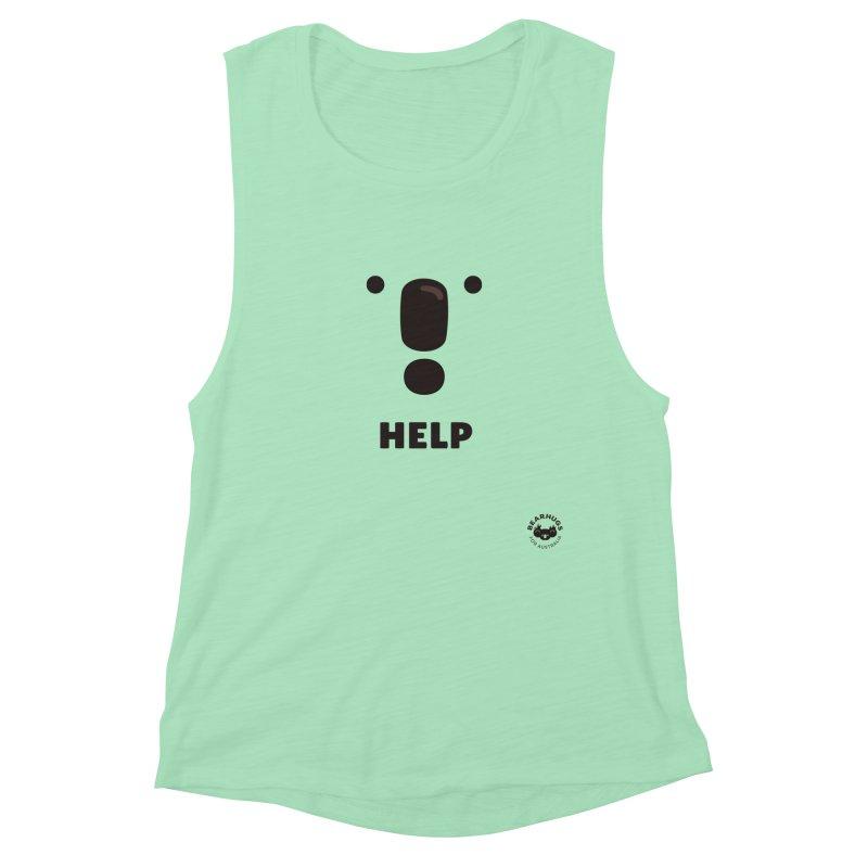 Koala Help! Women's Tank by Bearhugs For Australia