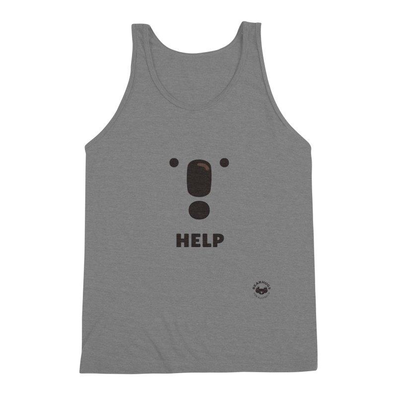 Koala Help! Men's Tank by Bearhugs For Australia