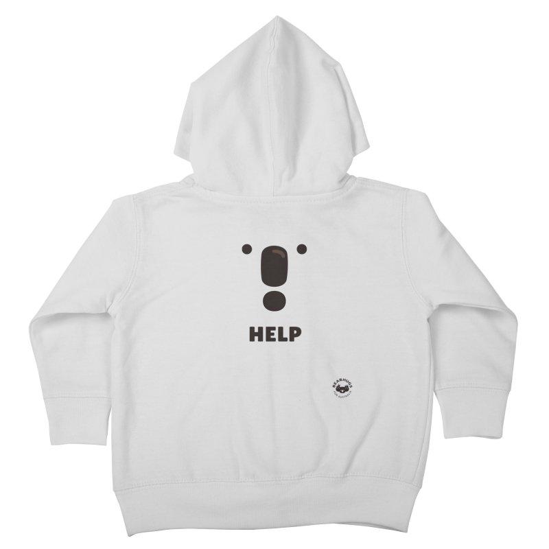 Koala Help! Kids Toddler Zip-Up Hoody by Bearhugs For Australia