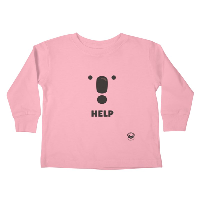 Koala Help! Kids Toddler Longsleeve T-Shirt by Bearhugs For Australia