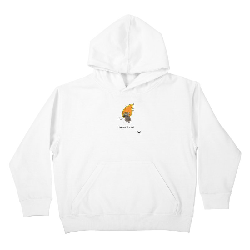 You're Right. Its Not Funny. Kids Pullover Hoody by Bearhugs For Australia