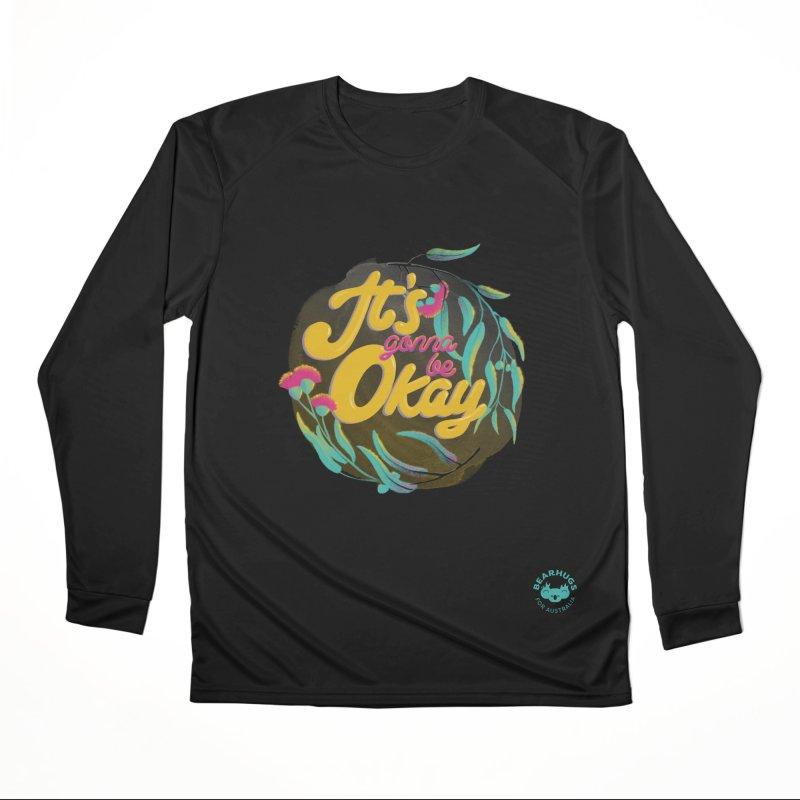 It's Gonna Be Okay Men's Longsleeve T-Shirt by Bearhugs For Australia