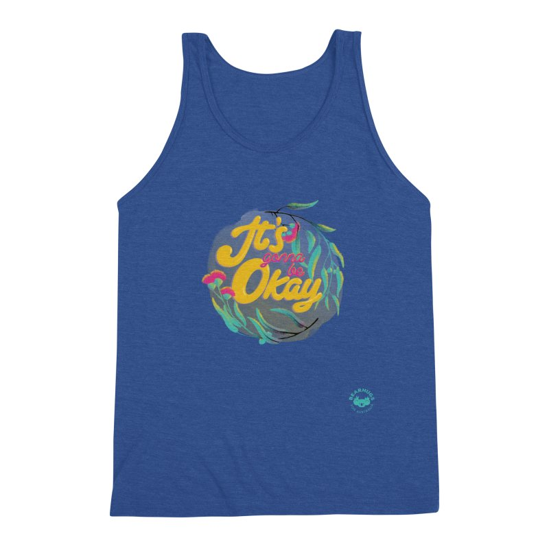 It's Gonna Be Okay Men's Tank by Bearhugs For Australia