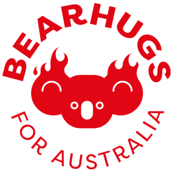 Bearhugs For Australia Logo