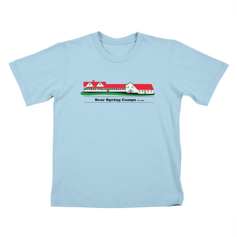 BSC LOGO Kids T-Shirt by Bear Spring Camps