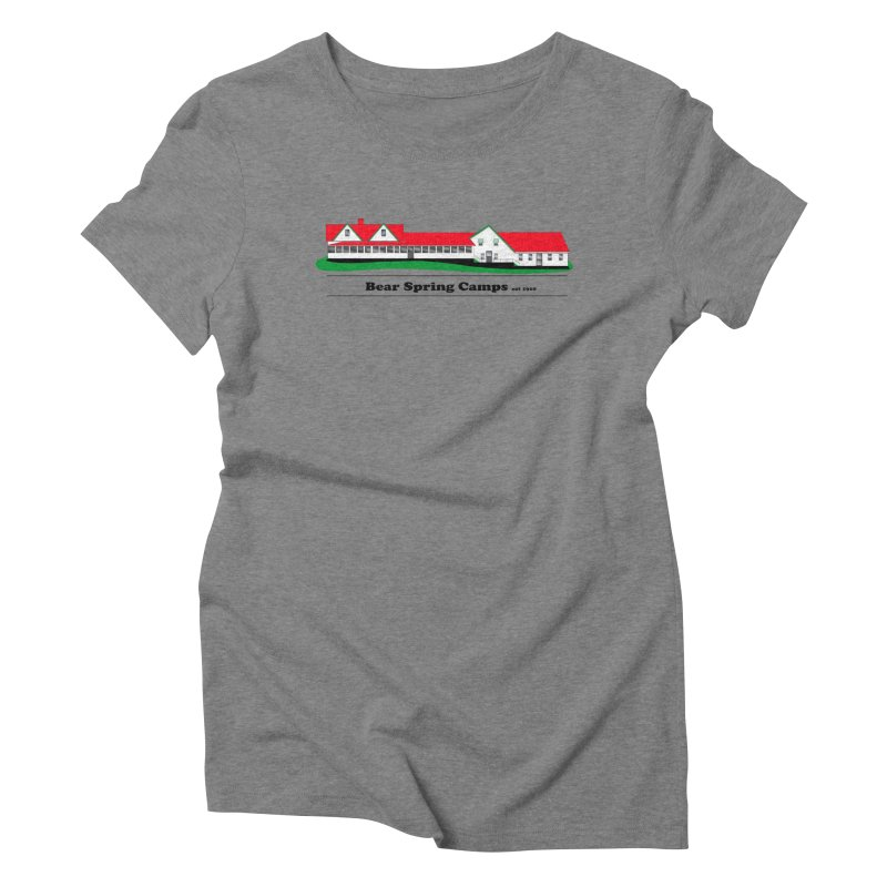 BSC LOGO Women's Triblend T-Shirt by Bear Spring Camps