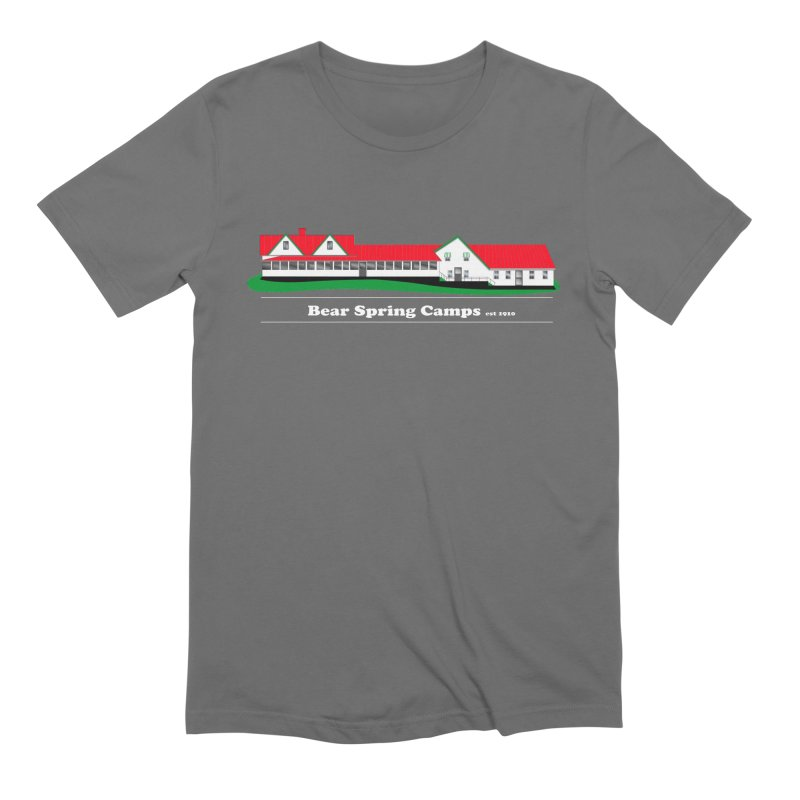 BSC Logo white lettering Men's T-Shirt by Bear Spring Camps
