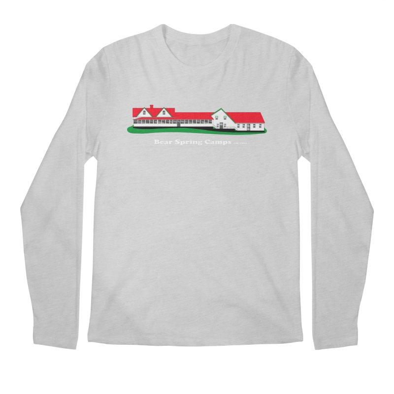 BSC Logo white lettering Men's Regular Longsleeve T-Shirt by Bear Spring Camps