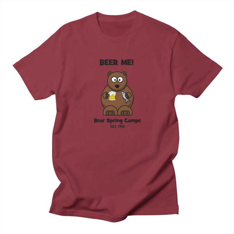 BEER ME Men's T-Shirt by Bear Spring Camps