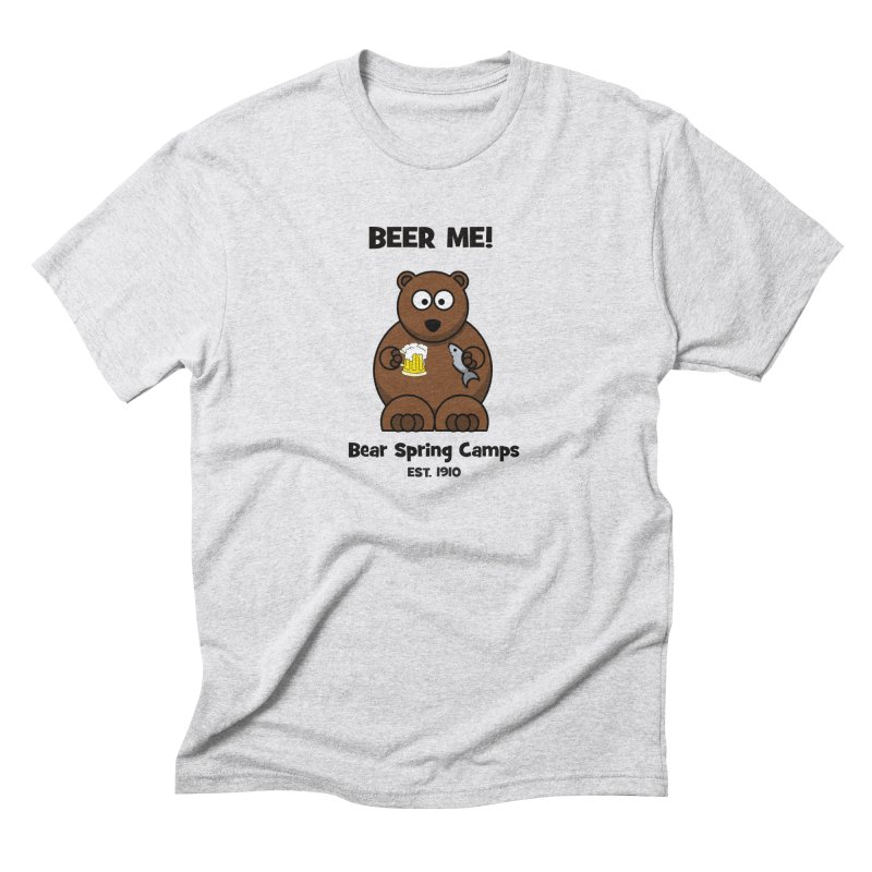 BEER ME Men's Triblend T-Shirt by Bear Spring Camps