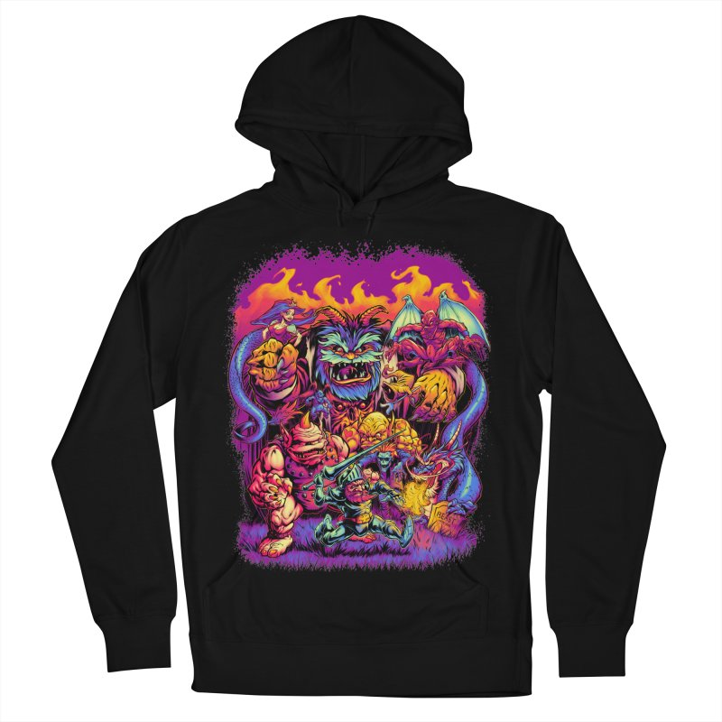 GHOSTS 'N' GOBLINS Women's Pullover Hoody by Beastwreck