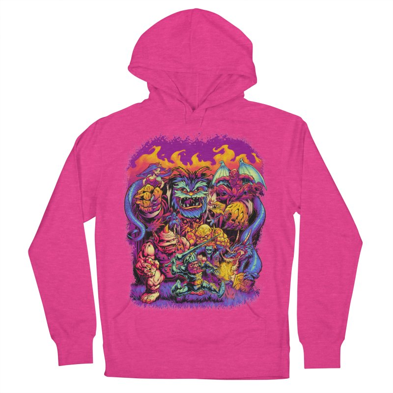 GHOSTS 'N' GOBLINS Men's Pullover Hoody by Beastwreck