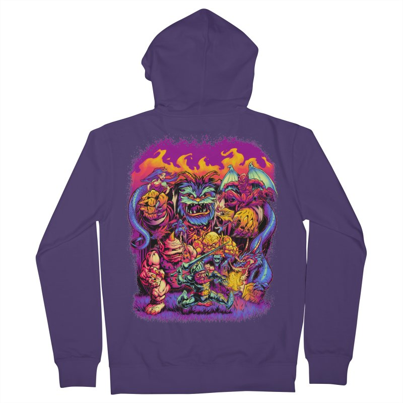 GHOSTS 'N' GOBLINS Women's Zip-Up Hoody by Beastwreck