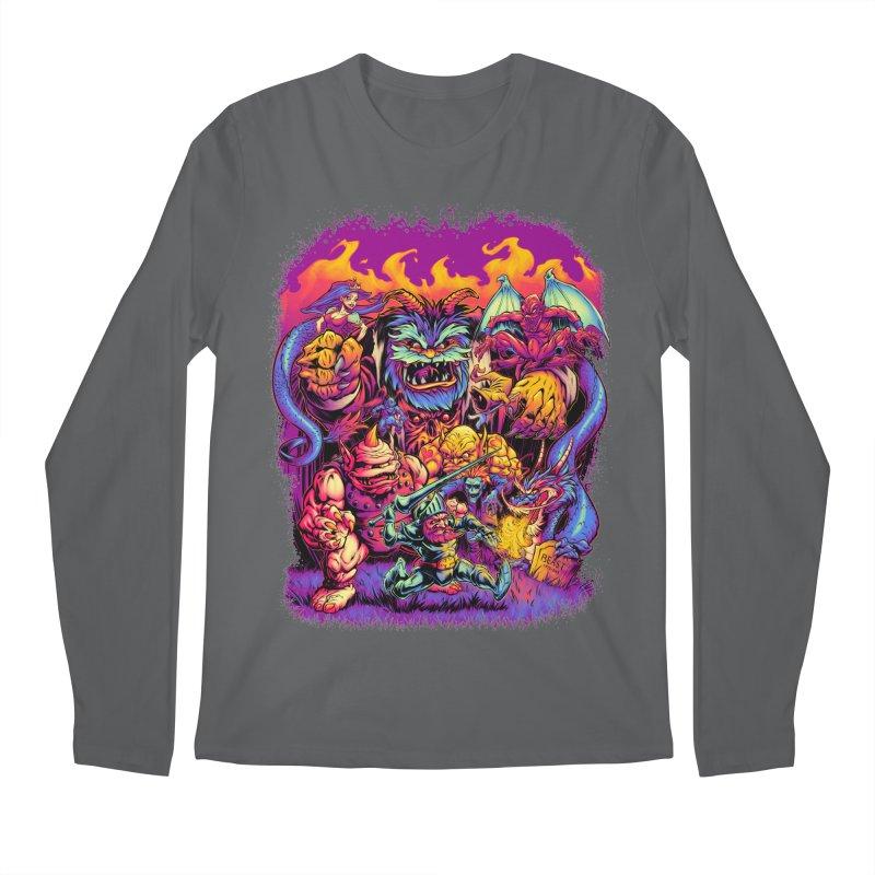 GHOSTS 'N' GOBLINS Men's Longsleeve T-Shirt by Beastwreck