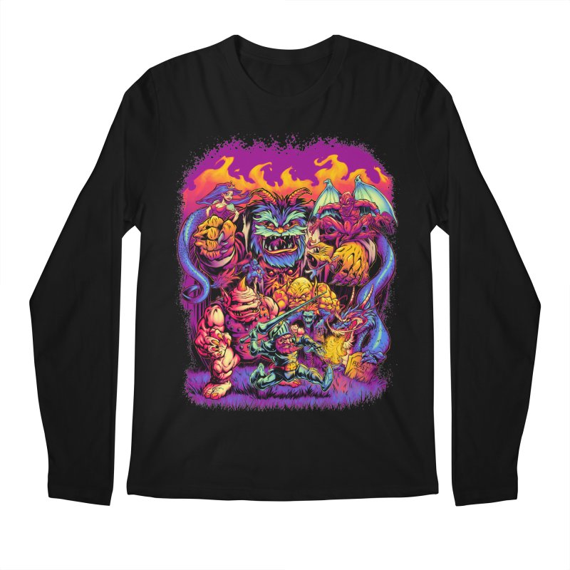 GHOSTS 'N' GOBLINS Men's Longsleeve T-Shirt by Beastwreck