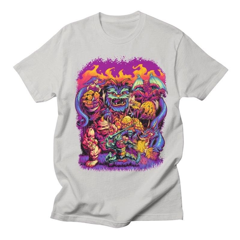 GHOSTS 'N' GOBLINS Men's T-shirt by Beastwreck