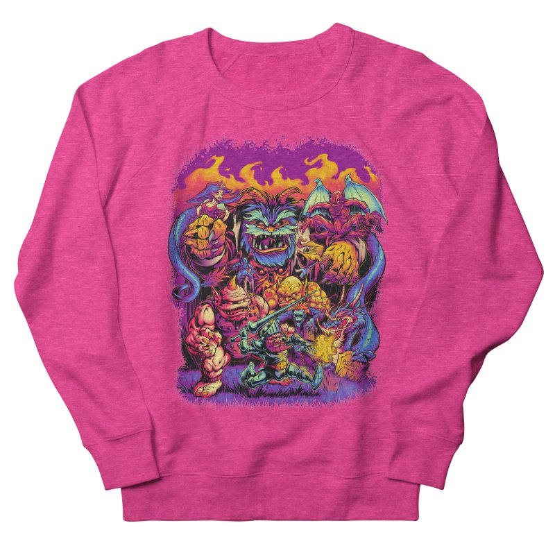 GHOSTS 'N' GOBLINS Men's Sweatshirt by Beastwreck