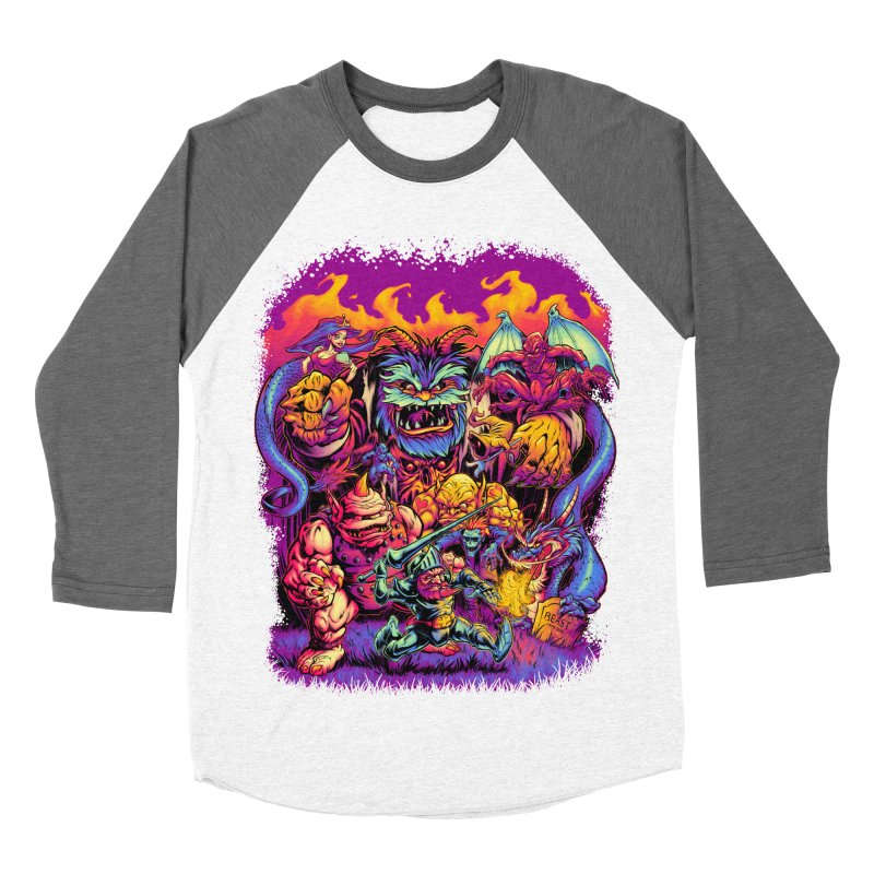 GHOSTS 'N' GOBLINS Women's Baseball Triblend T-Shirt by Beastwreck
