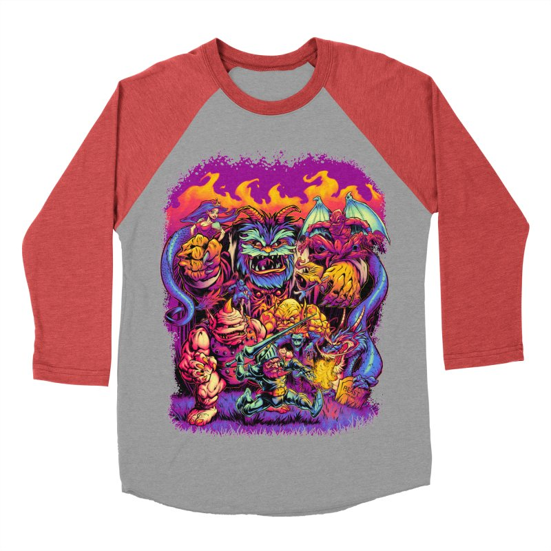 GHOSTS 'N' GOBLINS Women's Baseball Triblend T-Shirt by Beastwreck