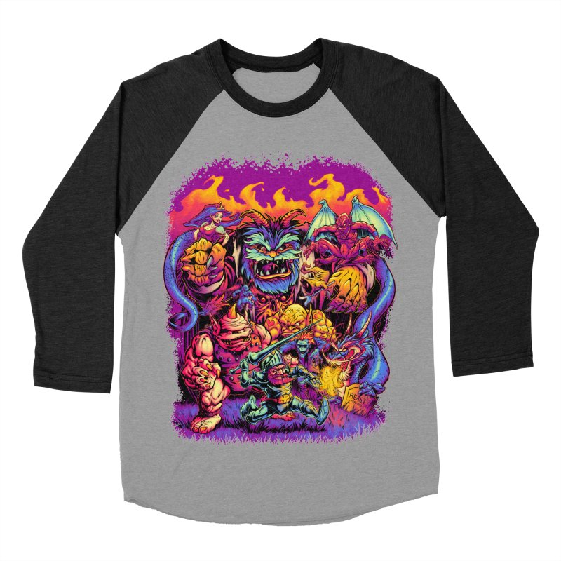 GHOSTS 'N' GOBLINS Men's Baseball Triblend T-Shirt by Beastwreck