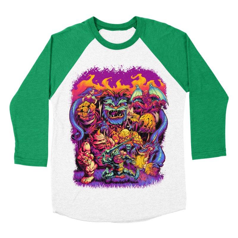 GHOSTS 'N' GOBLINS Men's Baseball Triblend T-Shirt by Beastwreck