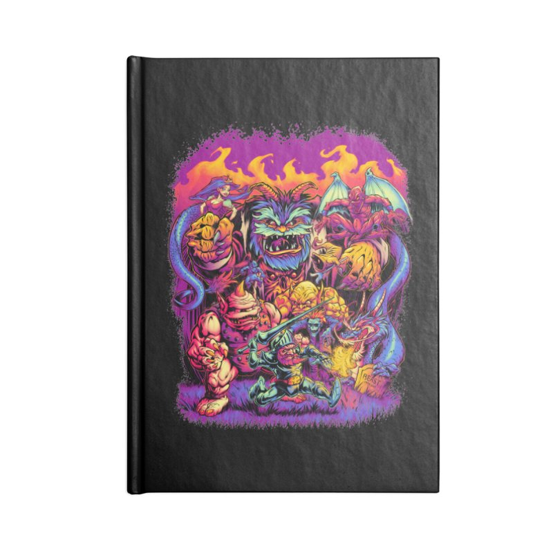 GHOSTS 'N' GOBLINS Accessories Notebook by Beastwreck