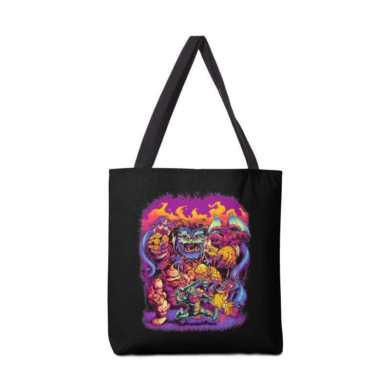 GHOSTS 'N' GOBLINS Accessories Bag by Beastwreck
