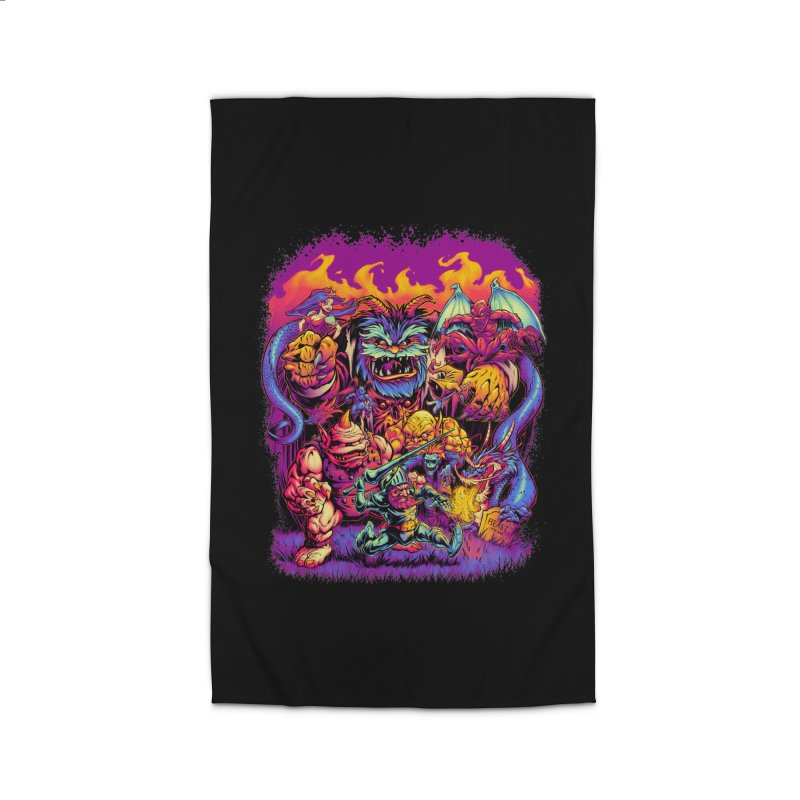 GHOSTS 'N' GOBLINS Home Rug by Beastwreck