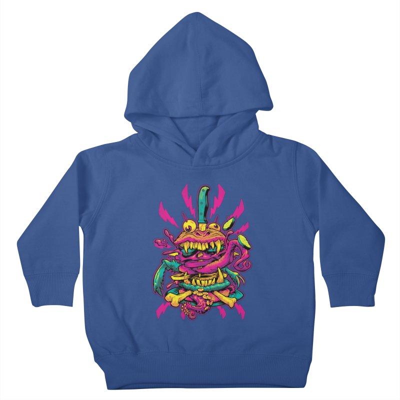 Beast Burger Kids Toddler Pullover Hoody by Beastwreck
