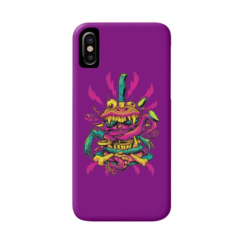 Beast Burger Accessories Phone Case by Beastwreck