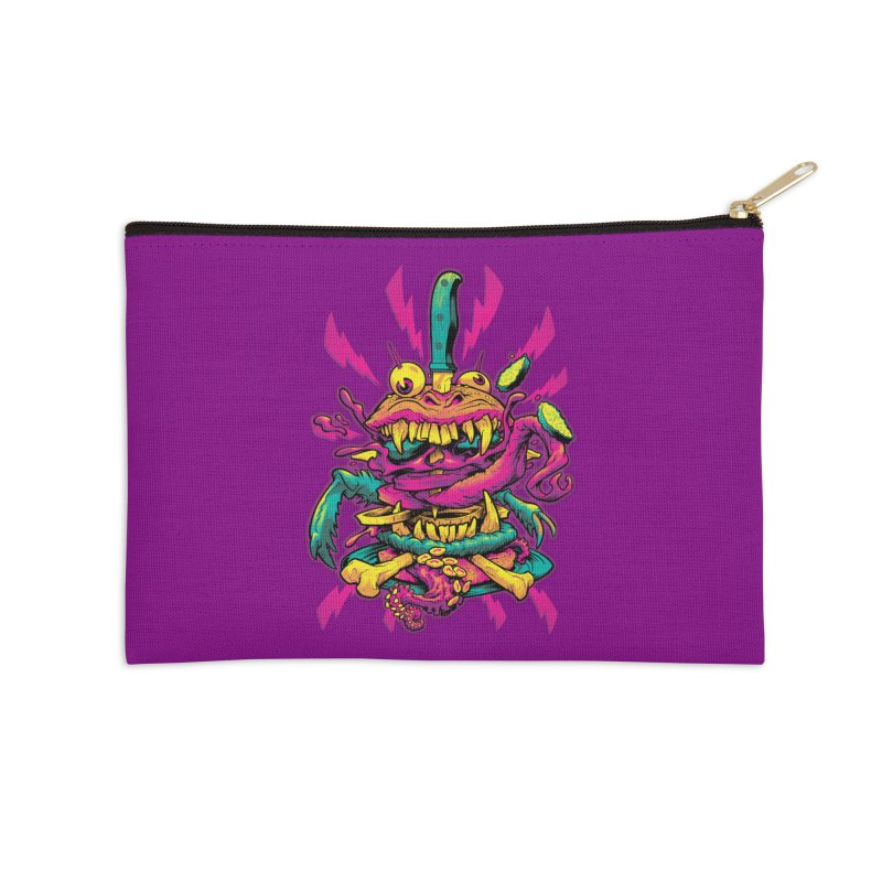 Beast Burger Accessories Zip Pouch by Beastwreck