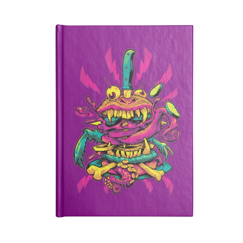 Beast Burger Accessories Notebook by Beastwreck