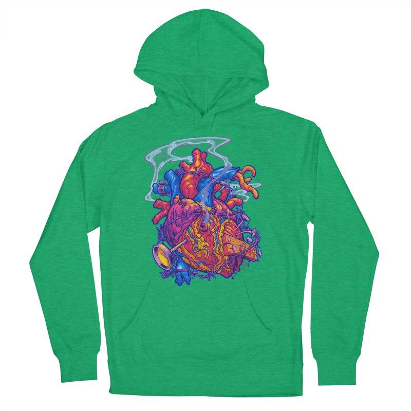 Beast Heart Men's Pullover Hoody by Beastwreck