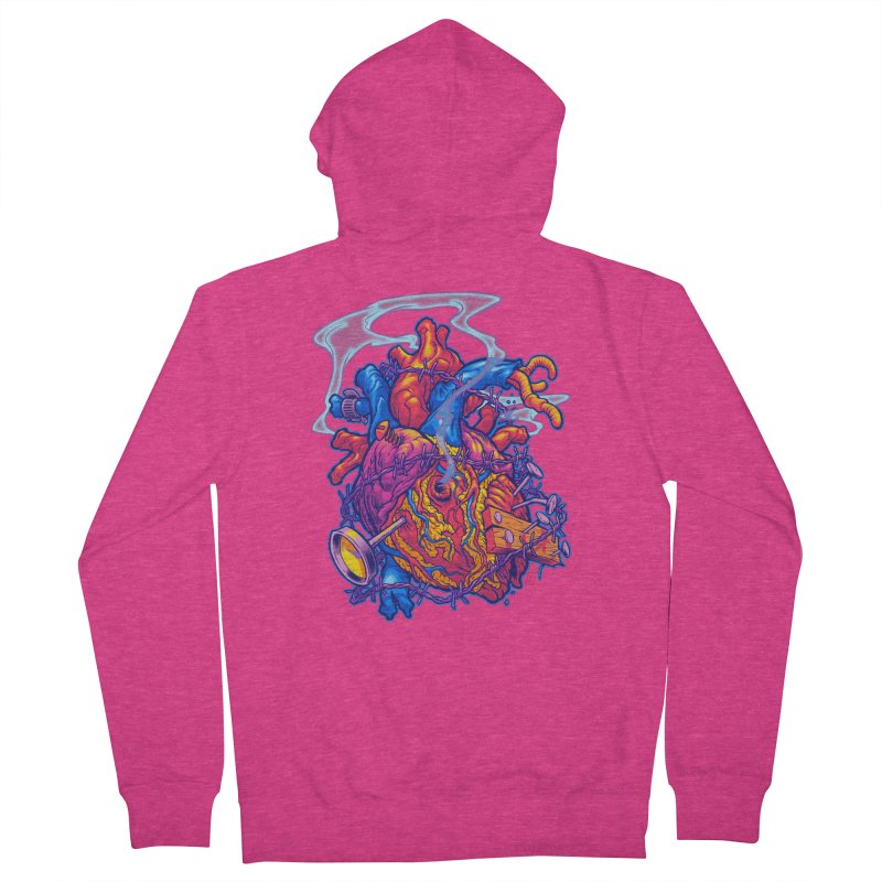 Beast Heart Women's Zip-Up Hoody by Beastwreck
