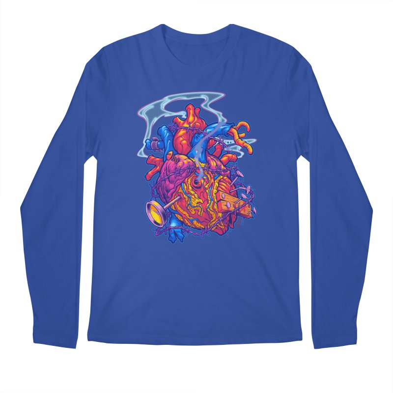Beast Heart Men's Longsleeve T-Shirt by Beastwreck