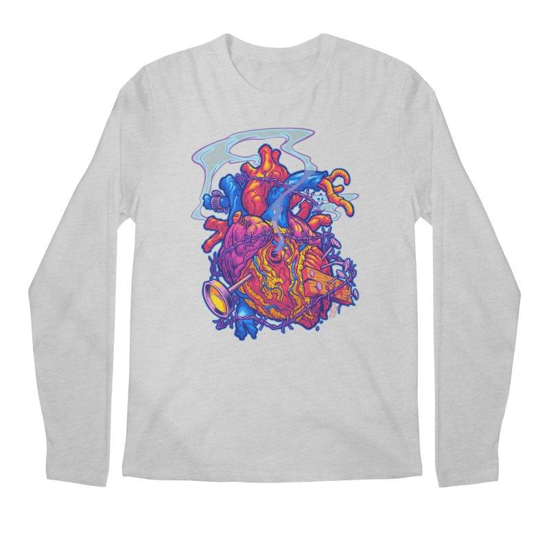 Beast Heart Men's Longsleeve T-Shirt by Beastwreck